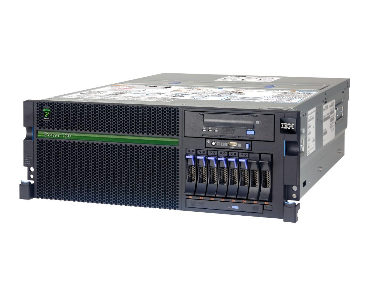 An IBM 8204-E8A Power 6 Configured Server