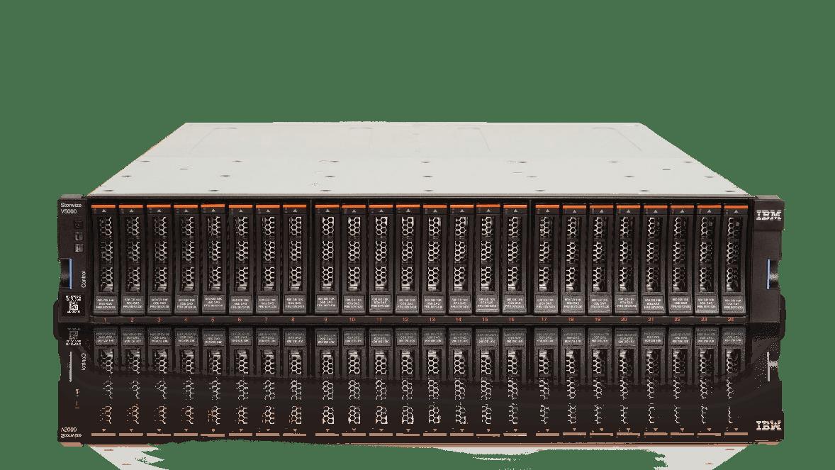 An IBM StoreWize V7000 Large Form Factor Expansion 2076-24F 96TB