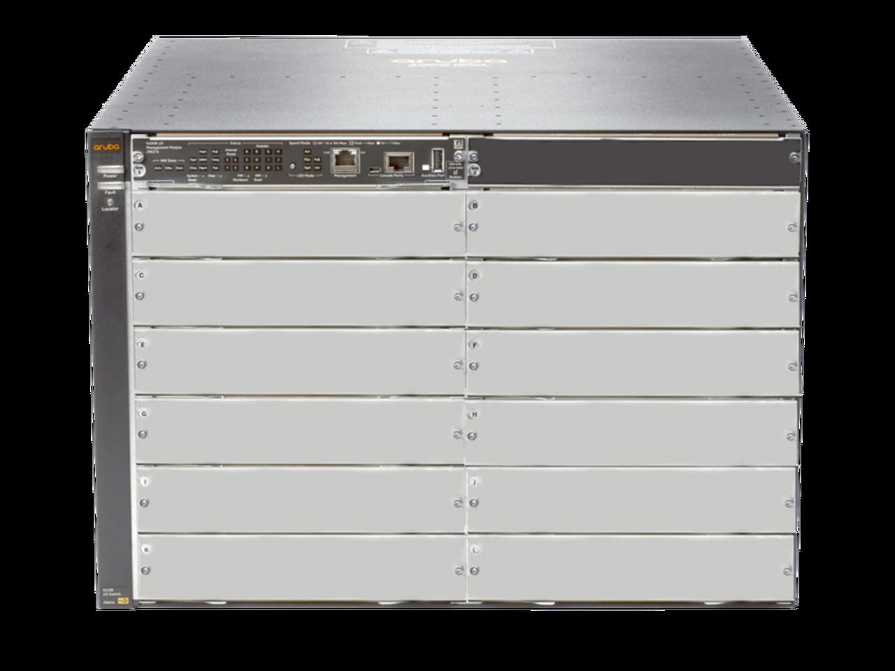 Aruba J9822A 5412R ZL2 Modular Switch