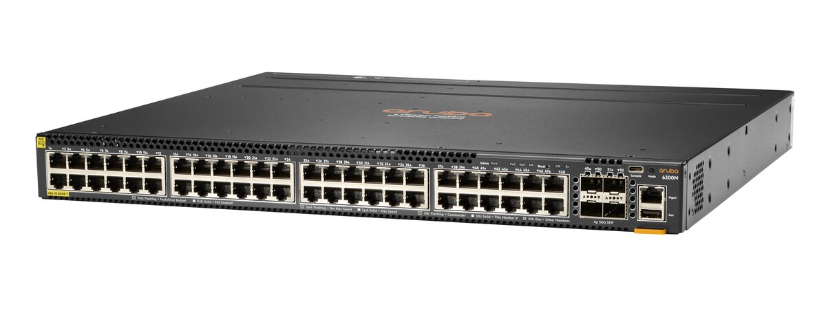Aruba JL659A 6300M 48-Port SFP Switch